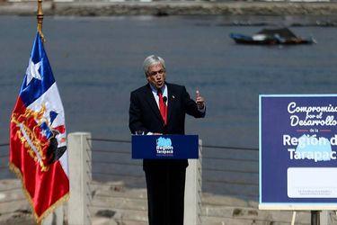 "Polémica por la ""talla"" de la minifalda del Presidente Piñera"