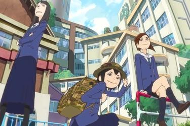 Animadores de Eizouken! recrearon cuadro por cuadro escenas de 'Conan, El Niño del Futuro'