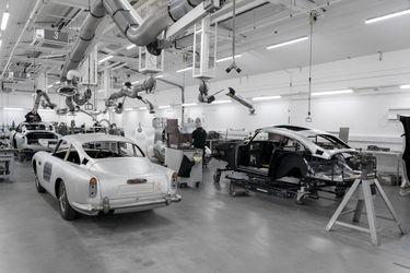 Aston Martin se echa a andar otra vez para dar vida al DB5 que condujo James Bond en los 60