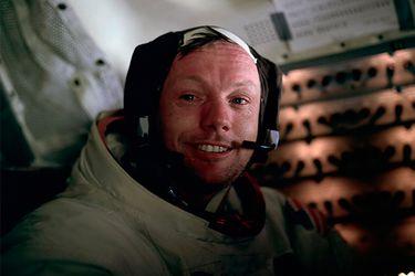 Mi papá fue el primero en pisar la Luna