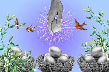 En el amor, tampoco debemos poner todos los huevos en la misma canasta