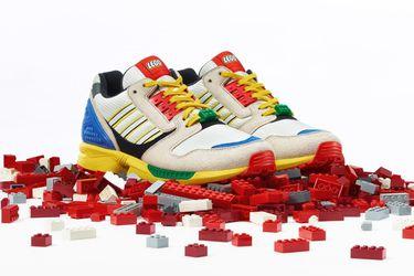 Las zapatillas inspiradas en LEGO de Adidas llegarán a Chile la próxima semana