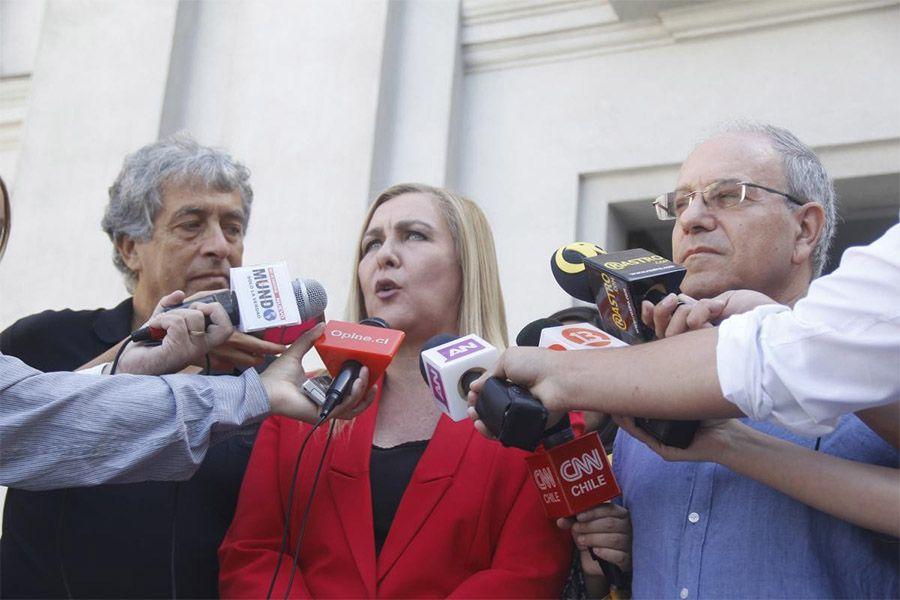 Pamela Jiles y Tomás Hirsch