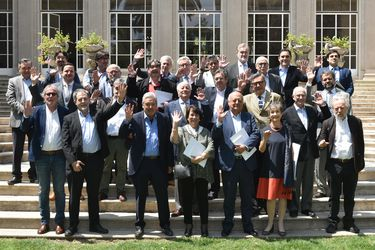 Del rector Ennio Vivaldi al alcalde Daniel Jadue: los asistentes a la reunión de apoyo a Argentina por las Malvinas