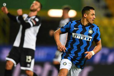 """Alexis tras su doblete ante Parma: """"Soy como un león enjaulado"""""""