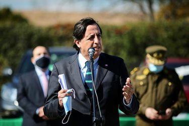 """Ministro del Interior afirma que el gobierno hará """"todos los esfuerzos"""" para que Celestino Córdova sea atentido en los momentos difíciles de la huelga de hambre"""