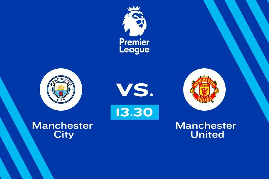 Manchester City vs. Machester United. En vivo.