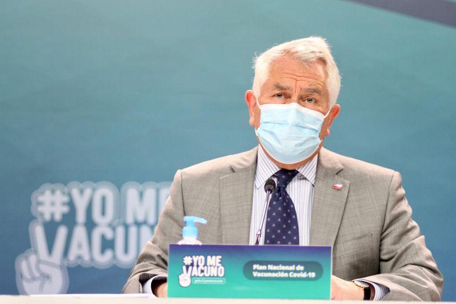 Coronavirus. Ministro Salud, Enrique Paris. Balance sanitario lunes 22 de febrero.