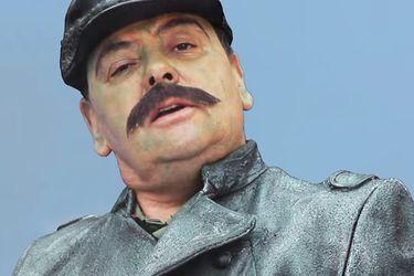 """Palta Meléndez se pone en la piel del General Baquedano: """"Está con crisis de pánico"""""""