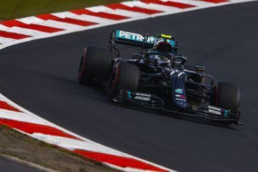 Bottas se impone en la clasificación del GP de Eifel