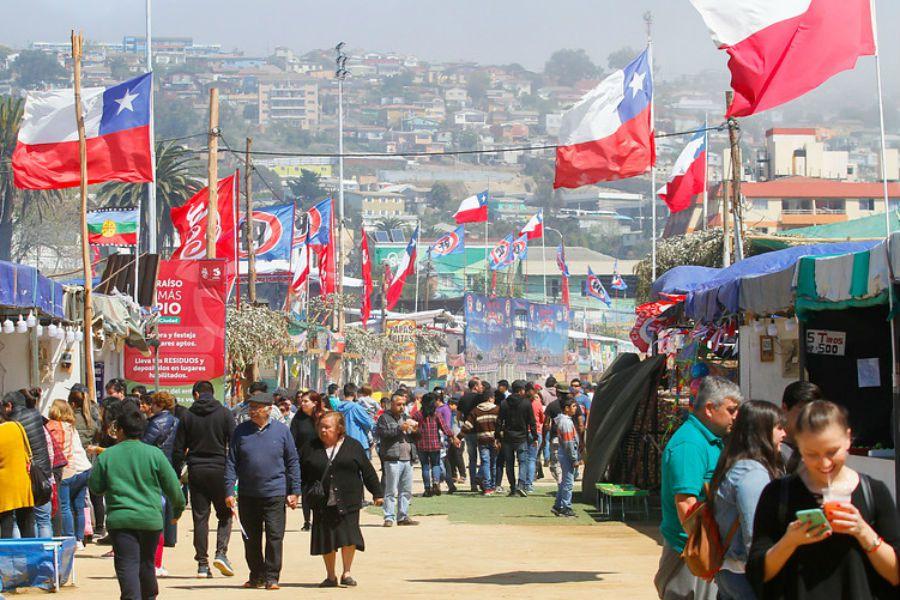 fondas -Parque Alejo Barrios de Valparaíso