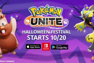 Con un tráiler Pokémon Unite presenta su evento por Halloween